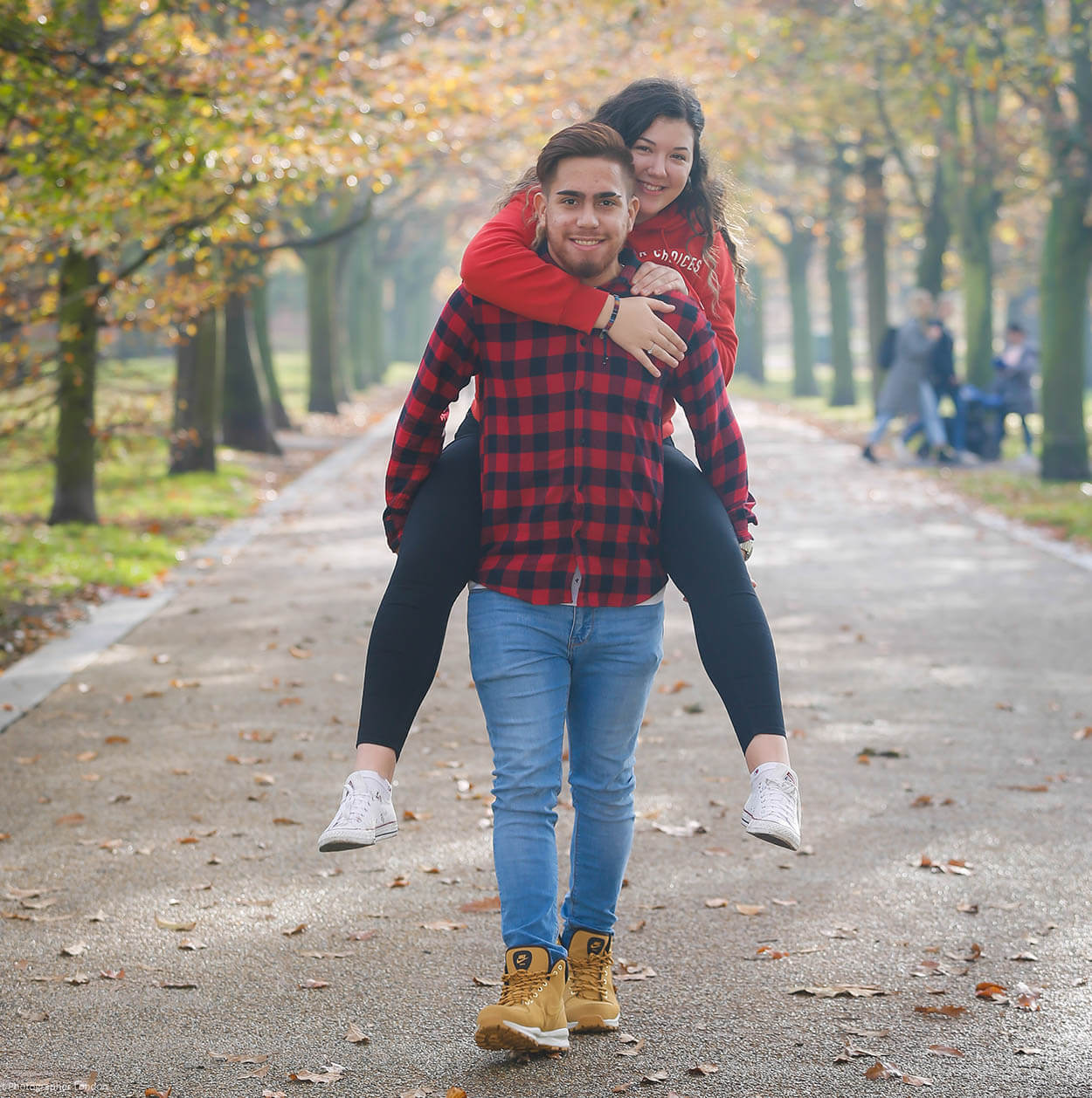Dalma & Lucas - Couples Photo Session Greenwich Park