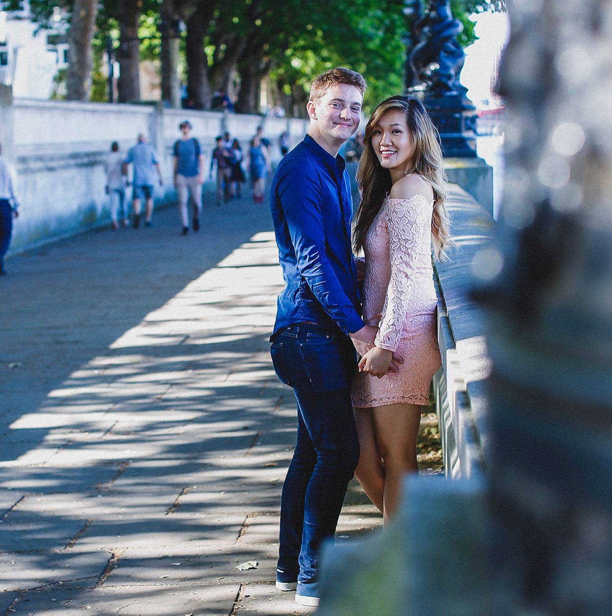 Kelly - Couples Photography - Westminster